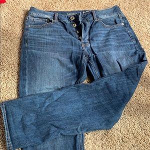 Button Up Boyfriend Jeans